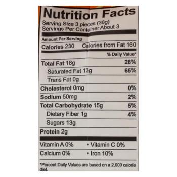 Alter Eco Americas Truffles - Salted Caramel - Case of 8 - 4.2 oz.