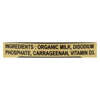 California Farms Organic Evaporated Milk - Case of 24 - 12 fl oz