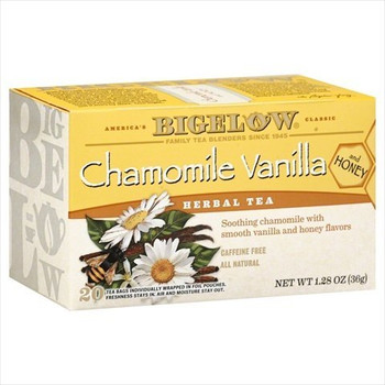 Bigelow Tea Tea - American Breakfast - Vanilla and Honey - Case of 6 - 20 BAG