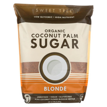 Big Tree Farms Coconut Palm Sugar - Blonde - Case of 4 - 5 lb.