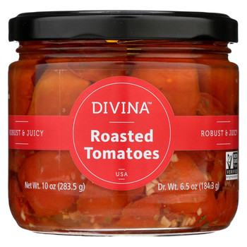 Divina - Tomatoes - Roasted Red - Oil and Herbs - 10 oz - case of 6