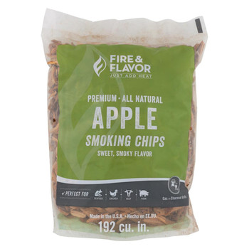Fire and Flavor Wood Chips - Apple - Case of 6 - 2 lb.