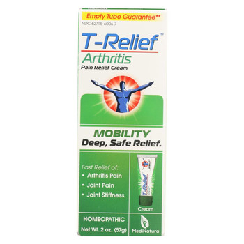 T-Relief - Zeel - Arthritic Pain - Osteoarthritis - Joint Stiffness - 1.76 oz