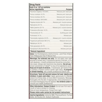 T-Relief - Pain Relief Gel - Arnica plus 12 Natural Ingredients - 1.76 oz