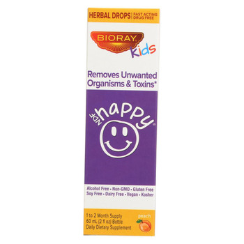 Bioray Kids NDF - Happy - Drops - Peach - 2 oz