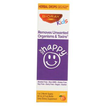 Bioray Kids NDF - Happy - Drops - Peach - 2 oz