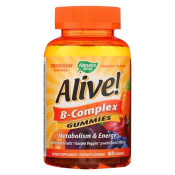 Nature's Way - Alive! B-Complex Gummies - 60 Gummies