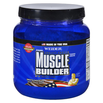 Weider Global Nutrition Muscle Builder - Dynamic - Powder - Chocolate - 1.15 lb