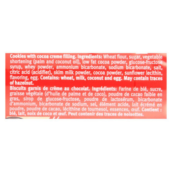 Bahlsen Cookies - Hit - Cocoa Creme - 4.7 oz - case of 12