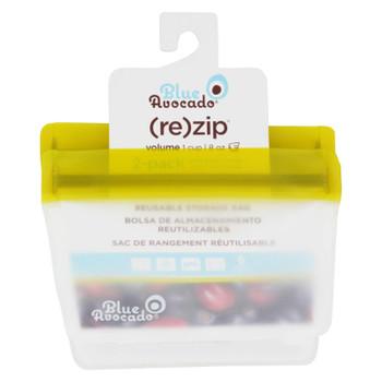 Blue Avocado - Bag - Re-Zip - 1 Cup - Green - 2 Pack