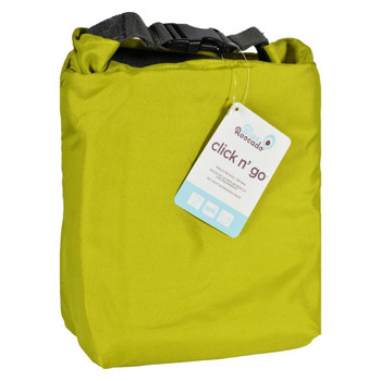 Blue Avocado Bag - Click N Go - Green - 1 Count