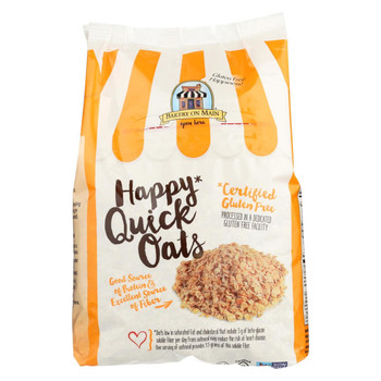 Bakery On Main Happy Quick Oats - Case of 4 - 24 oz.