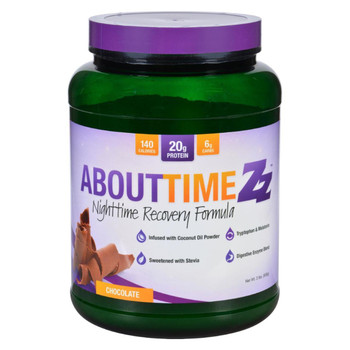 About Time Zz Nighttime Recovery - Chocolate - 2 lb