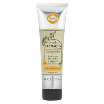 A La Maison Hand and Body Lotion - Honeysuckle - 5 fl oz