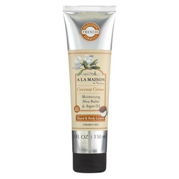 A La Maison Hand and Body Lotion - Coconut Creme - 5 fl oz