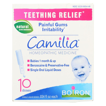 Boiron Camilia - Teething Relief - 10 Doses