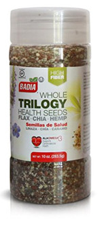 Badia Spices Trilogy Health Seed - Case of 12 - 10 oz.