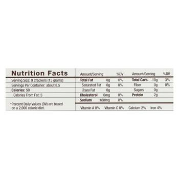 34 Degrees - Crisps - Natural - Case of 18 - 4.5 oz.