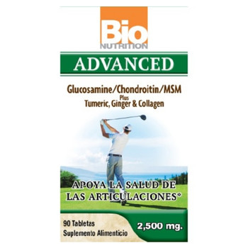 Bio Nutrition - Inc Advanced Glucosamine - 90 Tablets