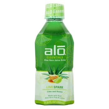 Alo - Drink Limespark - Case of 12-11.8 fl oz.