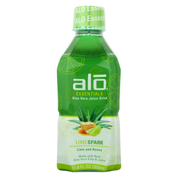 Alo - Drink Limespark - Case of 12-11.8 fl oz.