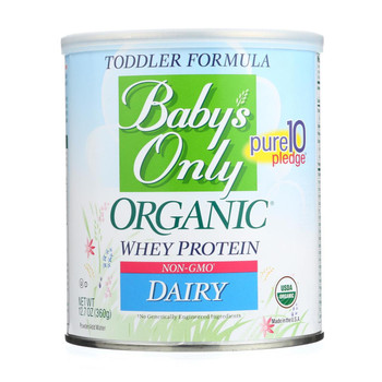 Baby's Only Organic Dairy Formula - Non Gmo - Case of 6 - 12.7 oz.
