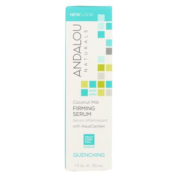 andalou Naturals Coconut Milk - Firming Serum - 1 fl oz