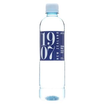 1907 - New Zealand Artesian Water - Case of 24 - 16.9 fl oz.