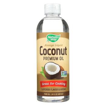 Nature's Way - Coconut Premium Oil - Liquid - 20 Fl oz.