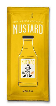 Sir Kensington's Mustard - Squeeze Packet - Case of 600 - 15 GM