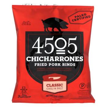 4505 - Pork Rinds - Chicharones - Case of 24 - 1 oz