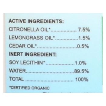 Greener ways Organic Insect Repellent - 2 Fl oz.