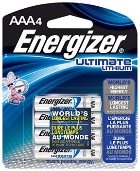 Energizer - Ultimate Lithium Battery - AA - Case of 6 - 4 Count