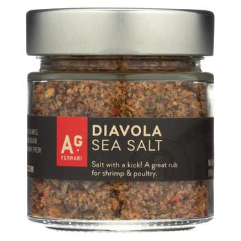 A.G. Ferrari Seasoning Salt - Diavola - Case of 12 - 6 oz.