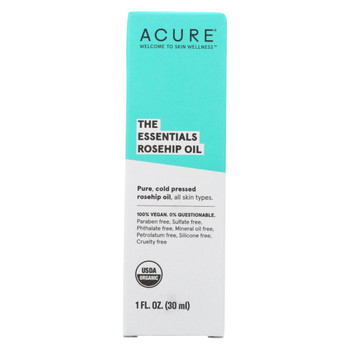 Acure - Oil - Rosehip - 1 fl oz