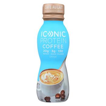 Iconic Protein Shake - Caf? Au Lait - Case of 12 - 11.5 Fl oz.