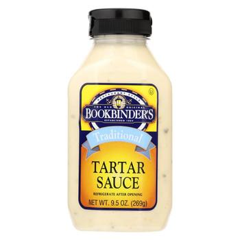 Bookbinder's - Tartar Sauce - Traditional - Case of 9 - 9.5 oz.