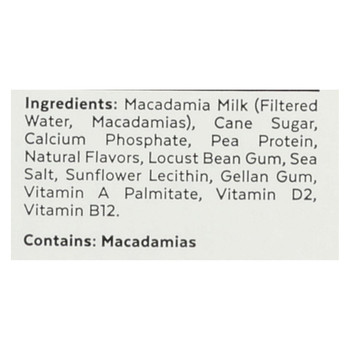 Milkadamia Milk - Original - Case of 6 - 32 Fl oz.