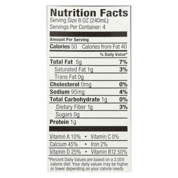 Milkadamia Milk - Unsweetened - Case of 6 - 32 Fl oz.