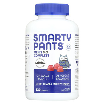 SmartyPants Men's Complete - 120 count
