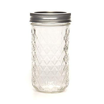 Ball Canning Quilted Crystal Jelly Jars - Case of 1 - 12 oz.