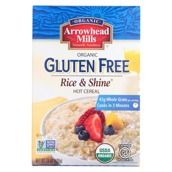 Arrowhead Mills - Cereal - Rice And Shine - Gluten Free - Case of 6 - 24 oz.
