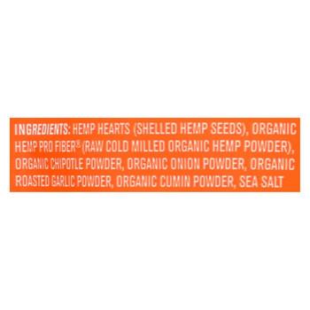 Manitoba Harvest Hemp Heart Toppers - Chipotle - Onion & Garlic - Case of 12 - 4.4 oz