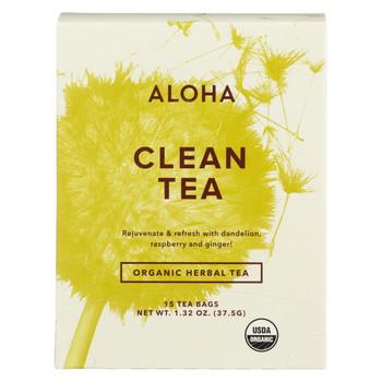 Aloha (Tea) - Clean - Case Of 6 - 15 Bag