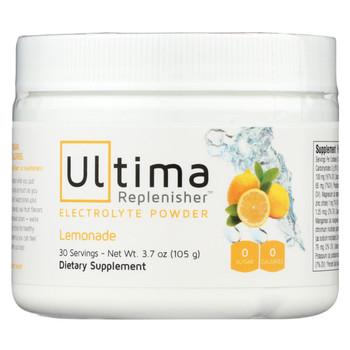 Ultima Replenisher Electrolyte Powder - Lemonade - Ca - 3.7 oz