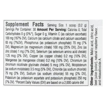 Ultima Replenisher Electrolyte Powder - Raspberry - Can - 3.4 oz