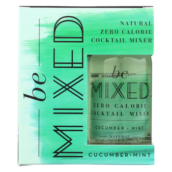 Be Mixed - Cocktail Mix - Cucumber Mint - Case of 3 - 4/4 fl oz.