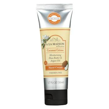 A La Maison - Hand Cream Coconut Creme - 1.7 fl oz.