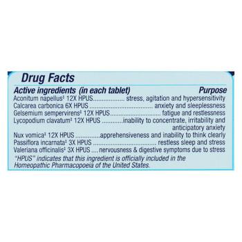 Genexa Stress Relief - Organic - 60 TAB