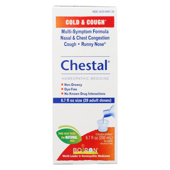 Boiron Chestal Cold N Cough - Adult - 6.7 fl oz